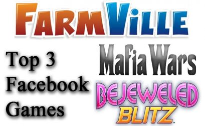 top 3 facebook games