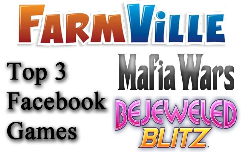 top 3 facebook games