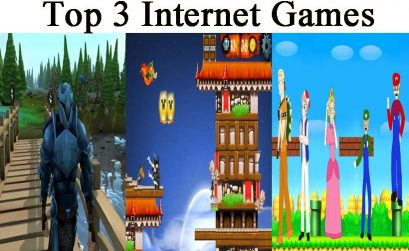 Top 3 Internet Games