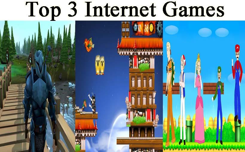 Top 3 Internet Games