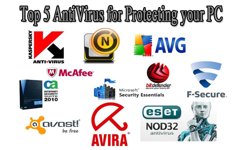 Top 5 AntiVirus for Protecting your PC