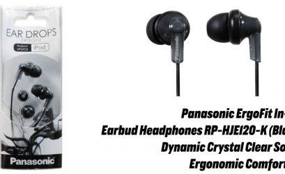 Panasonic ErgoFit In-Ear Earbud Headphones